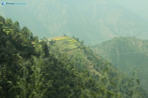 10. Impressive beauty of the hills in Nepal