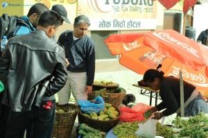 11. Rudra Pandey loves green vegetables