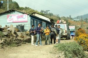 13. Start of 'Laligurash trekking route' at Deurali