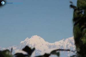 17. White snow-capped Himalayas