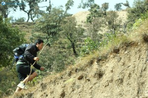 19. Niraj Thapa showing his athleticism