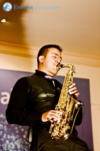 The melodious saxophonist