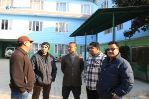 15. With Shyam Krishna Sangat