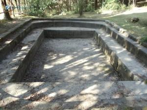 42. The dry reservoir