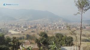 5. Banepa as seen from Sallaghari