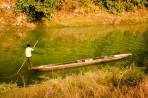 50. Canoeing