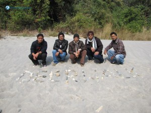 6. Deerwalk engraved in the sand