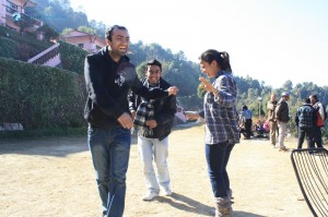 15. Pramod showing his moves