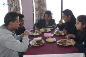 19. Thinking while eating