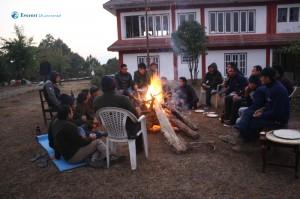 21. Camp fire