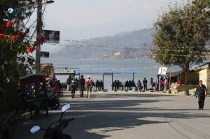 3. Random snap at Fewa Lake entrance