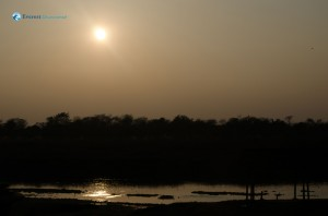 31. Sunset over rapti