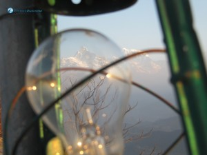 39. Machapuchhre through bulb eyes