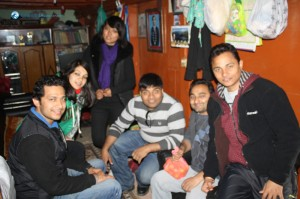 44. Tea Party at Bikram's House