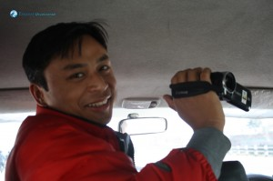 5. Our videographer for the night