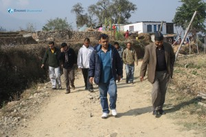 1. Heading Towards Shree Dilli Sabitri Secondary School