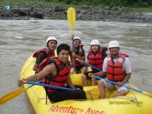 1. Ready for rafting