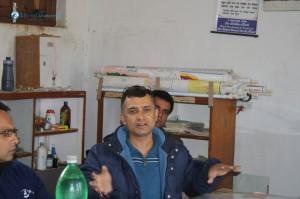 19. Surendra Dai having his say.