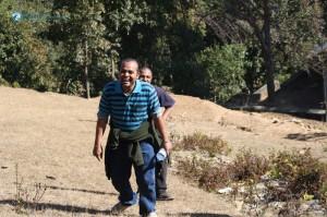 27. I'm walking n walking with a smile.