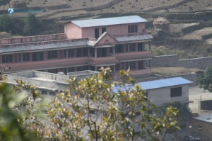 31. Building constructed by the effort of the locals