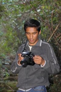 55. Suvash checking his photos