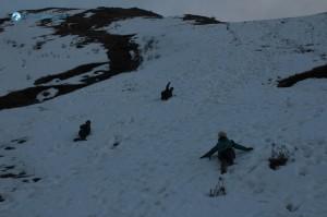 23. Impromtu Skiing