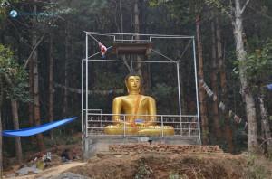 36. Statue Of Gautam Buddha At Machhe Narayan Shantiban