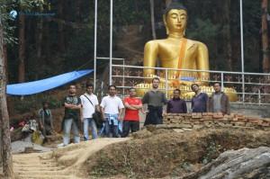 37. Deerwalk Hikers And Gautam Buddha