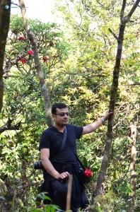 42. Pandey Ji posing