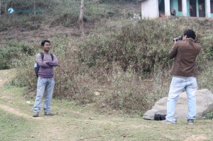 9. Sunil Posing For The Photo