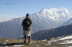 116. Portrait with Langtang Lirung