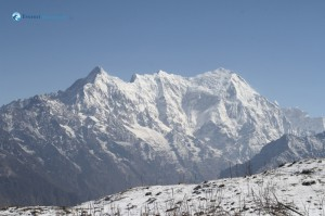 118. Langtang Himal from Laurebina