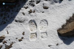 123. Footprints