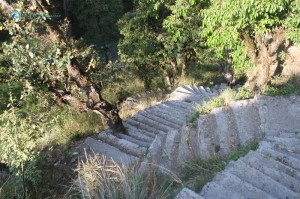 155. Steep Stone Stairs