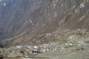 41. A Panorama of Langtang Village