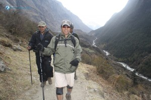 76. The Descent from Langtang