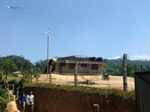 11. Building powered renewably