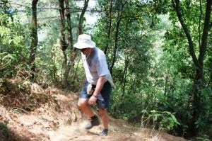 14. Bill climbs uphill