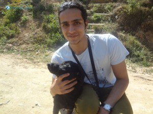 18. Sushant loves dogs