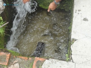 32. Water redirected to the city