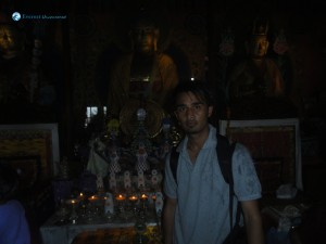 37. With Lord Buddha