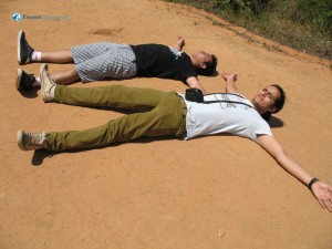 47. Ajay learns to play dead from Sushant