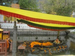 51. The final destination, Budhanilkantha