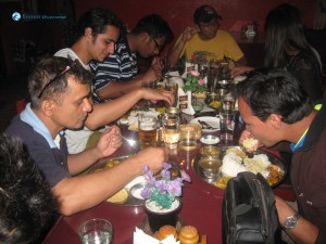 7. Nepalese love chewing big portions