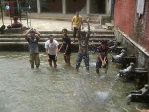 56. Water fun