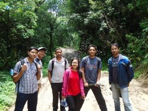34. Muddy trail