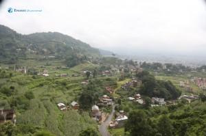 11. Aerial Village View