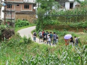 14. Walking together