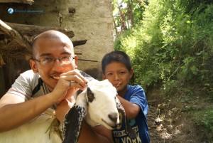 38. Goat lover