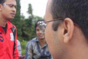 50. Bikram in the eye of rajiv